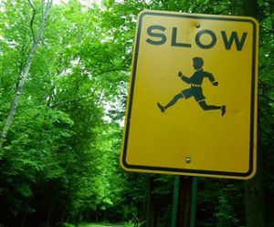Image result for slow running